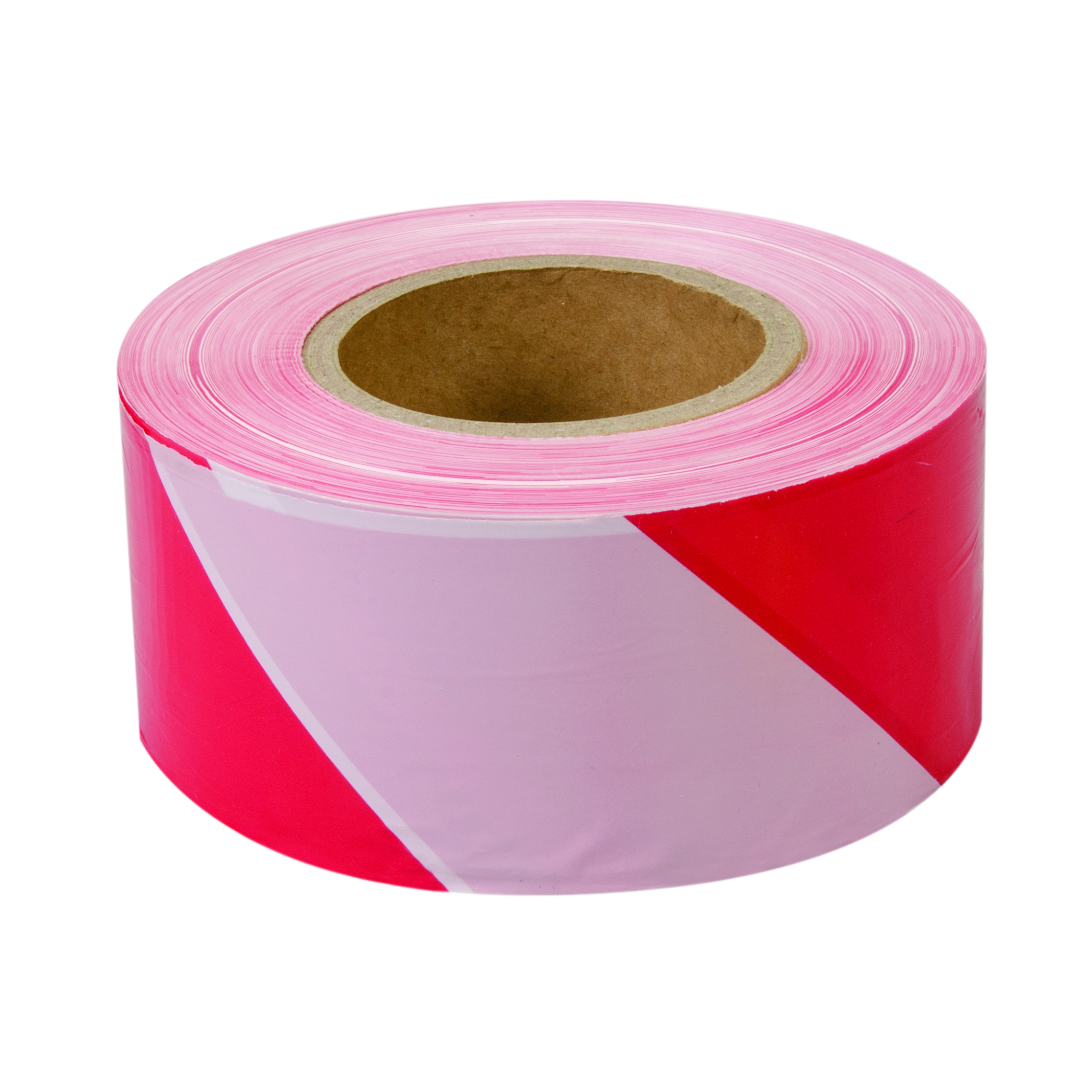 Afzetlint 70mm x 500m Rood/Wit